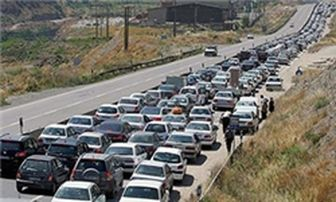 اعمال محدودیت ترافیکی در جاده های پرتردد