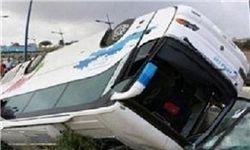 تصادف مرگبار اتوبوس در زاهدان