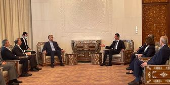 امیرعبداللهیان با بشار اسد دیدار کرد