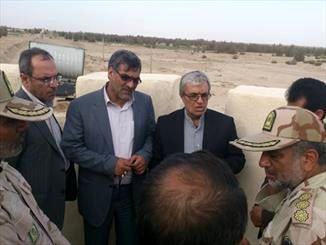 بازدید اعضای کمیسیون امنیت ملی از مرزهای شرقی