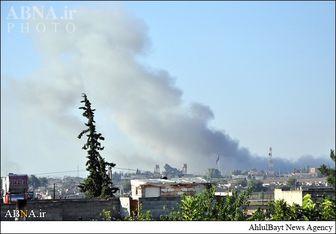 حمله هوایی به دفتر مرکزی داعش
