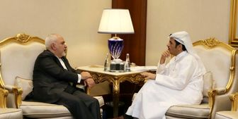 وقتی ظریف در تهران نیست و مقام قطری با او دیدار میکند!