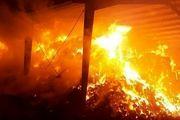 فوت 4 شهروند در آتش سوزی قهوه خانه سنتی