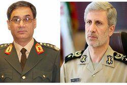 حضور وزیر دفاع افغانستان در تهران