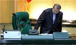 جلوس مجدد لاریجانی بر کرسی ریاست بهارستان