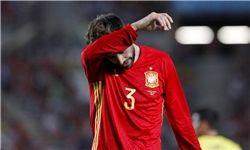 پشت پرده هو شدن مدافع بارسلونا در استادیوم
