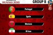 رنکینگ حریفان ایران در جام جهانی مشخص شد