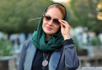 ماسک زدن به سبک «مهناز افشار»/ عکس