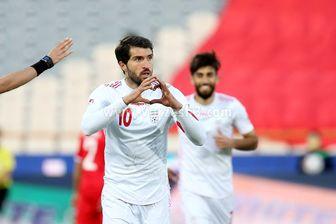 انصاری فرد سومین گلزن برتر انتخابی جام جهانی در آسیا