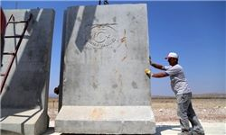 احداث دیوار در مرز ترکیه و سوریه
