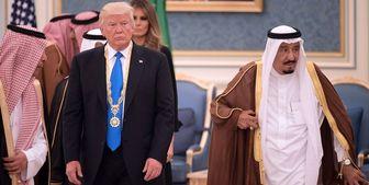 گوشزد شاه سعودی به ترامپ درباره لزوم سازش در موضوع فلسطین