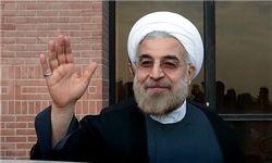 آغاز نخستین نشست خبری حسن روحانی