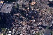 انفجار در بالتیمور آمریکا