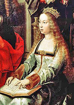 ایزابلا ی اول ملکه کاتسیا