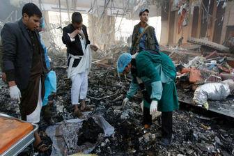 عربستان یمن را به شدت بمباران کرد