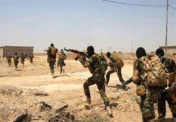 متلاشی شدن یک باند تروریستی در عراق
