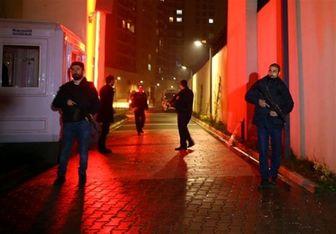 حمله خمپارهای به ساختمان تجاری روسیه