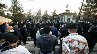 صحبتهای اهالی ورزش در روز خاکسپاری علی انصاریان