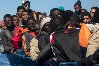 نجات ۴۵ پناهجو در سواحل تونس