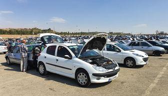 قیمت افسار گریخته خودرو در بازار به علت گرانی دلار