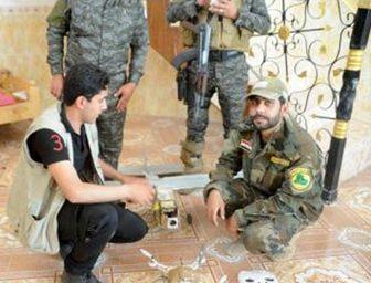 ابتکار جوان عراقی برای مبارزه با داعش + عکس