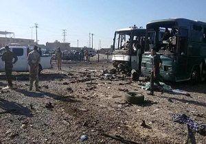انتقال پیکر شهدای حادثه تروریستی سامرا به مرز مهران