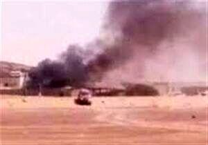 مردم یمن حامی اصلی منصور هادی را به آتش کشیدند+عکس
