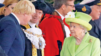 عزل بوریس جانسون دور از ذهن ملکه نیست