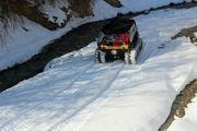 بارش برف بهاری در زنجان/ عکس