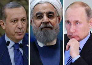 دیدار سران ایران، روسیه و ترکیه با موضوع سوریه
