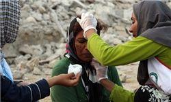 ارائه خدمات غربالگری به حدود ٤٠ هزار نفر از مردم زلزله زده کرمانشاه