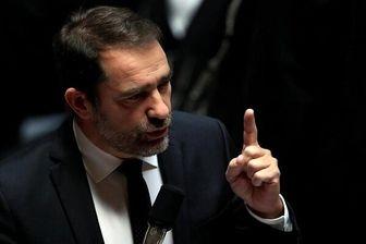 وزیر کشور فرانسه معترضان را «دزد و اوباش» خطاب کرد