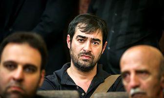 شهاب حسینی در مراسم ختم همسر شهید بابایی+ تصاویر