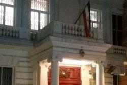 معترضین به سفارت ایران آزاد شدند!