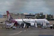 فرود اضطراری هواپیمای شرکت هاوایی در آمریکا
