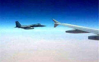 مزاحمت جنگندههای متخاصم برای هواپیمای مسافری ایران در آسمان سوریه+ فیلم