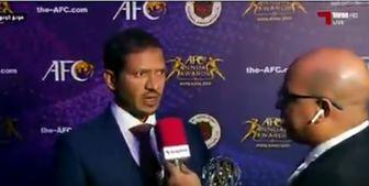 مدیر باشگاه السد: اکرم عفیف در سال جاری بسیار عالی عمل کرد