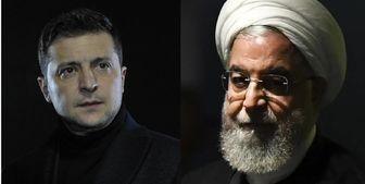 رؤسای جمهور اوکراین و ایران تلفنی گفتگو میکنند