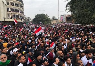 تلاش بیبیسی برای کماهمیت نشان دادن تظاهرات ضد آمریکایی در عراق