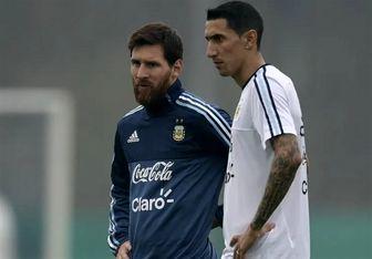 دیماریا: مسی پس از باختمان به برزیل در کوپا آمریکا، اشک بازیکنان را درآورد