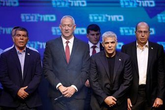 توافق «گانتز» با «لاپید» برای کنار زدن نتانیاهو از قدرت