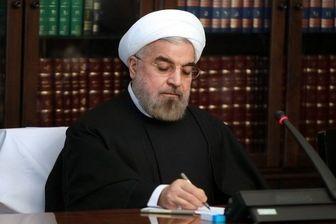روحانی نوروز را به سران ۱۱ کشور منطقه تبریک گفت