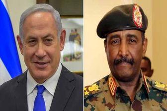 توجیه مجدد «البرهان» برای دیدار با «نتانیاهو»