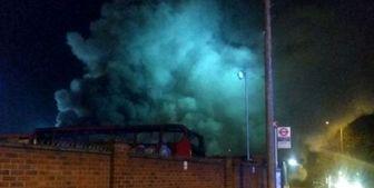 انفجار در ایستگاه اتوبوسی در جنوب لندن