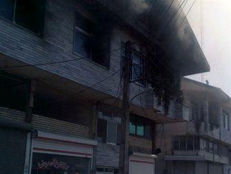حضور بهموقع آتشنشانان در آستانهاشرفیه آتش را مهار کرد+جزئیات
