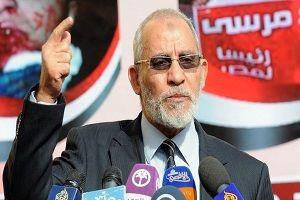 حبس ابد برای رهبر اخوان المسلمین
