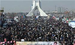 باشکوهترین «ضربه متقابل» مردم تهران به بدخواهان ایران