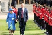گاف ترامپ این بار درباره دیدار با ملکه انگلیس