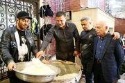 حضور چهرههای ورزشی در پیاده روی اربعین حسینی /تصاویر