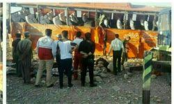 قطع نخاع ۲ دانش آموز در پی واژگونی اتوبوس